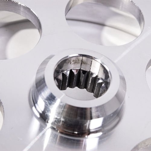 Aluminium Alloy 4 Piece Lightened Underdrive Engine Pulley Set: Amazon.es: Coche y moto