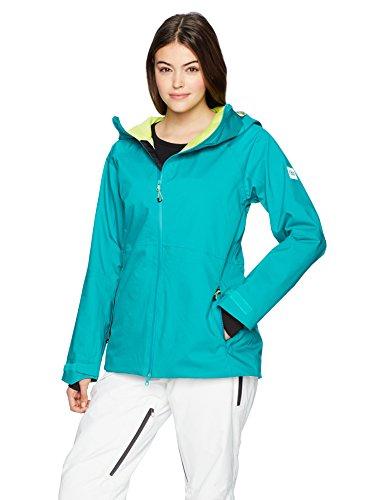 686 Women's GLCR Hydra Insulated Jacket, Teal Twill, Medium