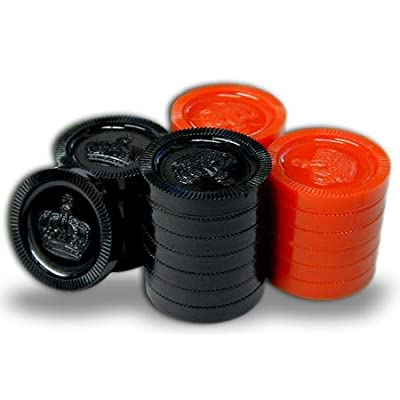 Cannon Sports Checkers Set (Board not Included): Toys & Games