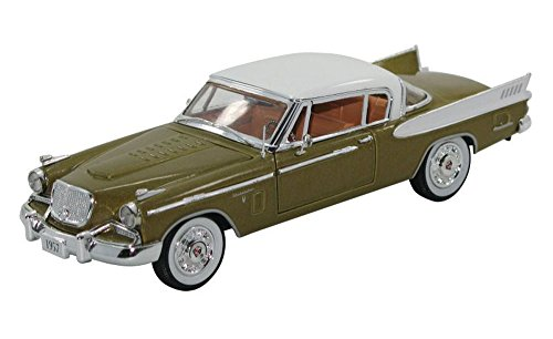 (Signature Models 1957 Studebaker Hawk , Gold 32399 - 1/32 Scale Diecast Model Toy Car)