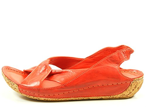 femme Rouge sandales mode 32010 02 Gemini xwXTq4pIW