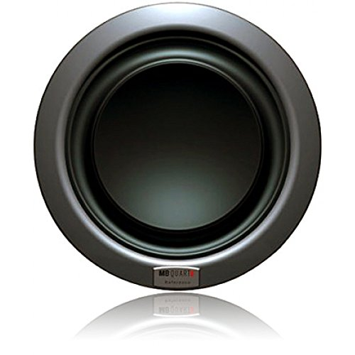 MB Quart RWE302 12-Inch 500 Watts RMS Dual 2 Ohm Reference Subwoofer 1000W Max