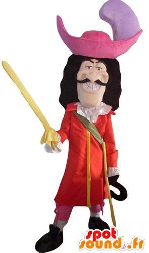 mascota SpotSound del Capitán Garfio, personaje malvado de ...