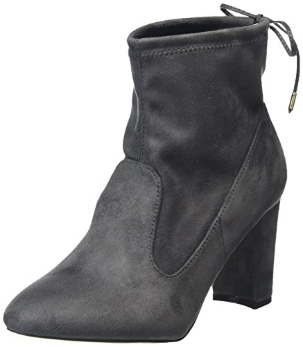 Dorothy Perkins WoMen Alisa Unlined Ankle Boots Grey (Grey)
