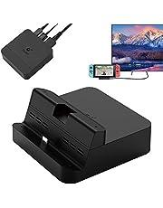 GuliKit NS05 Switch Dock-set, draagbaar tv-dockingstation voor Nintendo Switch met USB-C PD-laadstation, HDMI-adapter en USB 3.0-poort, compatibel met Samsung DeX-modus/Huawei-PC-modus
