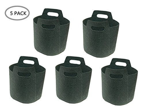 7 gallon fabric pot pack - 1