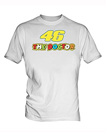 Valentino Rossi Vr46 6 Herren White T Shirt Amazon De Bekleidung