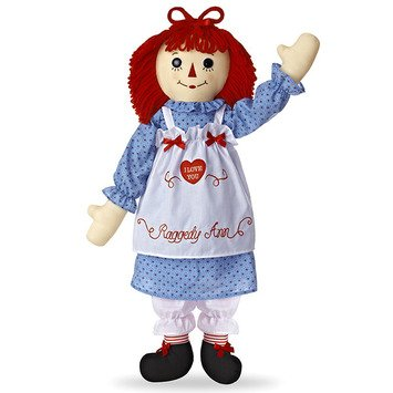 Large Raggedy Ann Doll ()