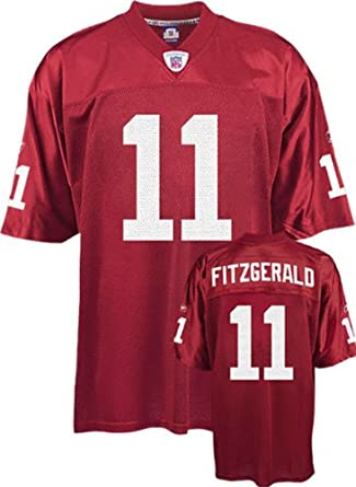 Authentic Red Larry Fitzgerald 11 Jersey Amazon.com Larry Fitzgerald Jersey  Reebok Alterate Red Repl Buy Arizona Cardinals Jerseys ... 7cd33cccc