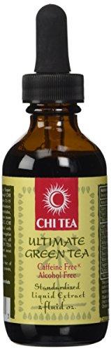 Chi Tea Ultimate Green Tea Liquid Extract Chi Tea 2 oz (Tea 2 Ounce Liquid)