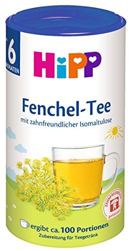 HiPP Fenchel - Tee zahnfreundlich, 3er Pack (3 x 200 g) 3664 Baby Kind
