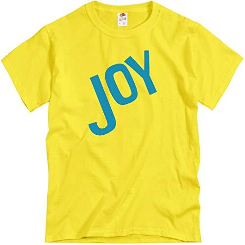 Joy Adult Costume: Unisex T-Shirt Yellow]()