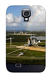 Galaxy S4 Case - Tpu Case Protective For Galaxy S4- Space Shuttle Launch Cape Canaveral Case For Thanksgiving's Gift