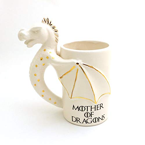Game of Thrones - Mother of Dragons Mug with 22k Gold Accents ()