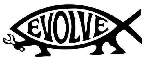 Buy evolve fish magnet