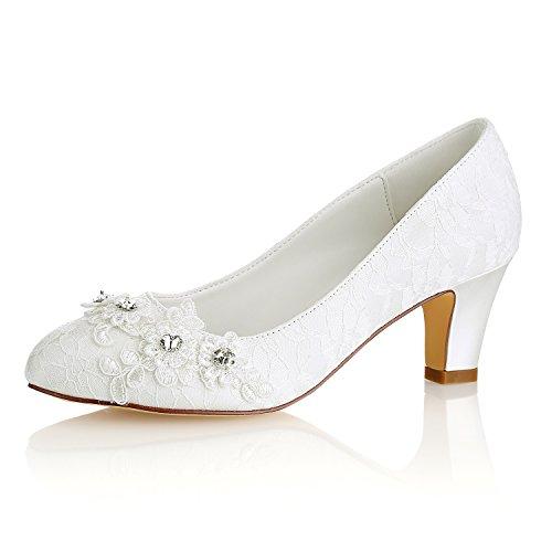 4U Best las mujeres Zapatos boda KUKIE Sat de de qY5wYzd
