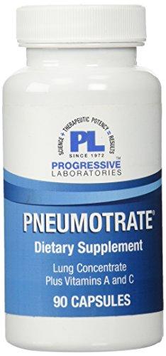 Progressive Labs Pneumotrate Supplement, 90 Count