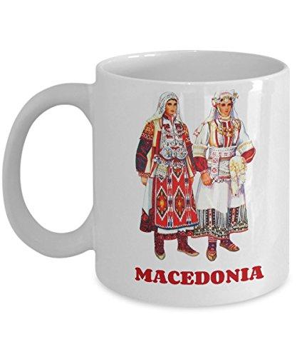 Macedonian Folk Costumes (Macedonia Folk Costume - Coffee Mug)