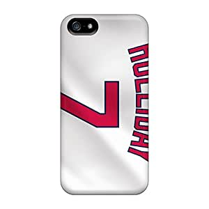 High Quality Shock Absorbing Case For Iphone 5/5s-st. Louis Cardinals
