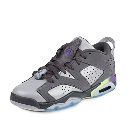 Nike Air Jordan 6 Retro Low GG Grey/Green/Violet 768878-008 (Size: 8Y) by Jordan