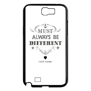 Samsung Galaxy N2 7100 Cell Phone Case Black_must always be different Cktka