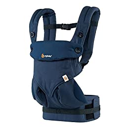 Ergobaby 360 All Carry Positions Award-Winning Ergonomic Baby Carrier, Midnight…