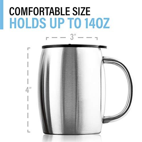 Buy stainless steel coffee mug