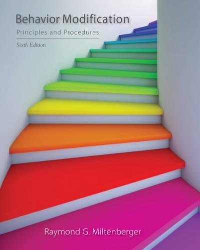 Behavior Modification: Principles and Procedures cover