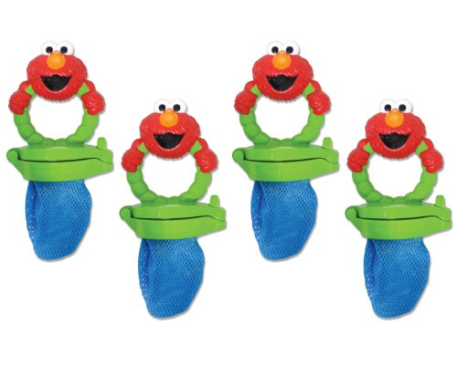 Munchkin 4 Pack Fresh Food Feeder, Sesame Street