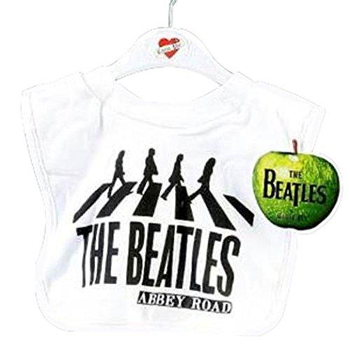 The Beatles Abbey Road Bib ~ White (Beatles Bib)