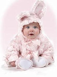 Bearington Baby Pink Cottontail Bunny Coat 12-24M