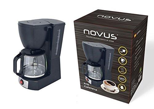 JPWonline - Cafetera eléctrica 10-12 tazas NOVUS N-122 ...