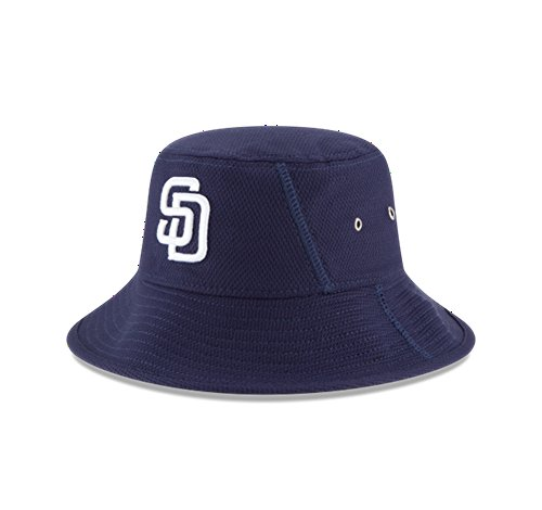 MLB San Diego Padres 2016 Clubhouse Bucket Stretch Fit Cap, One Size, - Clubhouse Padres