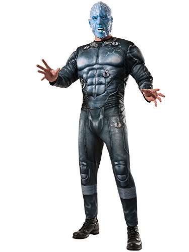 [Rubie's Costume Men's Marvel Universe, The Amazing Spider-man 2 Deluxe Electro Costume, Multicolor, X-Large] (Villain Mask)