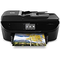 HP Envy 7640 Wireless All-in-One Photo Printer with Mobile Printing, Instant Ink ready, Refurbished (E4W43AR)