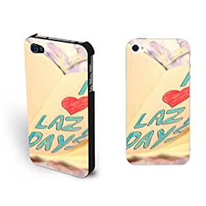 Pastel Love Heart Design Printed For Ipod Touch 5 Case Cover with Quotes Fashion Book Pattern For Ipod Touch 5 Case Cover Skin for Girls