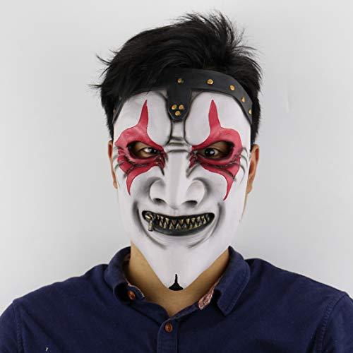 Slipknot Band James Zipper Mouth Mask Halloween Horror Scary Haunted House Set Live Mask Movie Mask ()
