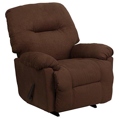 Leggett Living Room Sofa (Flash Furniture Contemporary Calcutta Chocolate Microfiber Chaise Rocker Recliner)