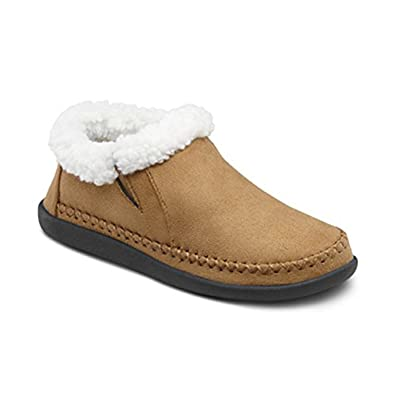 Amazon.com | Dr. Comfort Women's Bonita Camel Diabetic Slippers | Slippers