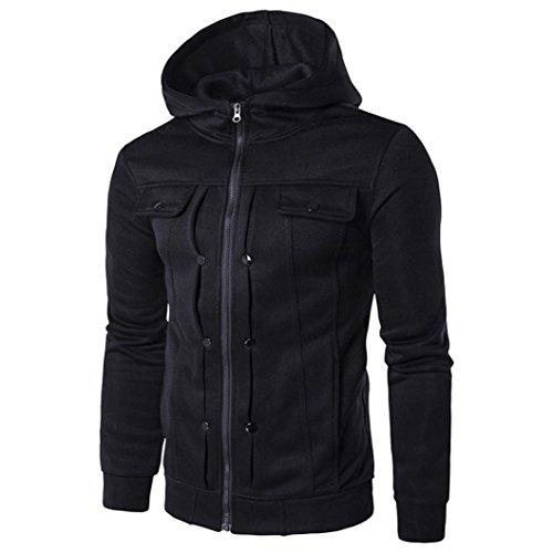 Canserin Hot Sale! Men Jacket, 2017 Fashion Mens Classic Slim Designed Lapel...