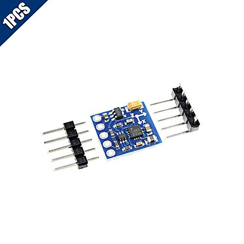 Comidox 1PCS HMC5883L GY-271 3V-5V Triple Axis Digital Compass Magnetometer Sensor Module Three-axis Magnetic Field Compass Module for Arduino IIC ()