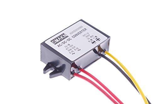 SMAKN® DC 5V/3A(MAX) AC/DC TO DC Buck Power Converter Voltage Step Dowm Power Supply Waterproof Input AC 7-36V/DC 8-50V