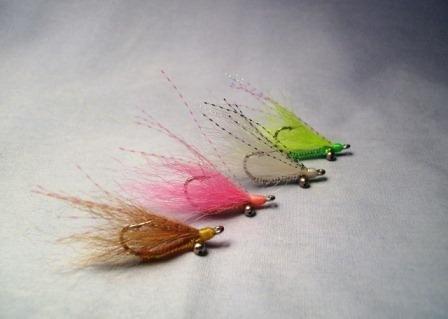 Crystal River Bead (Merrimack River Flies Crystal Charlie Bonefish Fly Bead Chain (Medium) Size 6 Chartreuse)