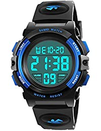 Toys for 6-15 Year Old Girls, ATOPDREAM LED 50M Waterproof Digital Watches Gifts for Teen Boys Outdoor Toys for 7-8 Year Old Teenage Boys Girls 8-15 Year Old