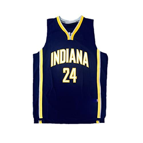 huge discount cfbcd 2caca Paul George Indiana Pacers Away Autographed Jersey JSA ...