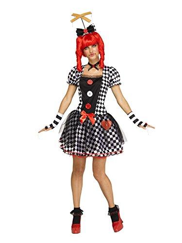 Fun World Women's Marionette Doll, Multi, M/L Size -