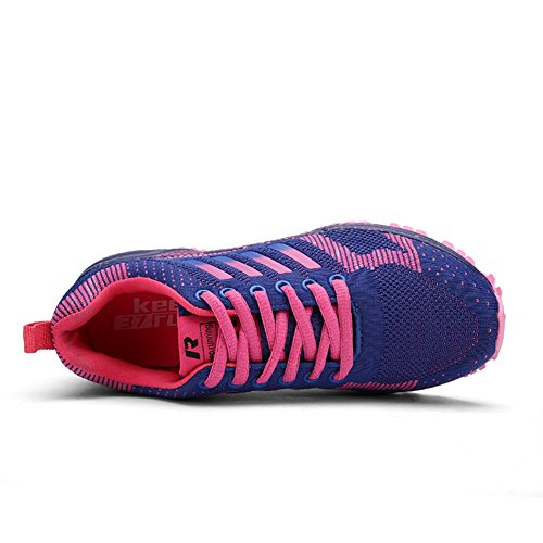 Shoes Purple Mens Adults Outdoor XTIANUK Athletic Casual Lightweight Sneakers Running Womens Fitness Trainers q67WOtTn