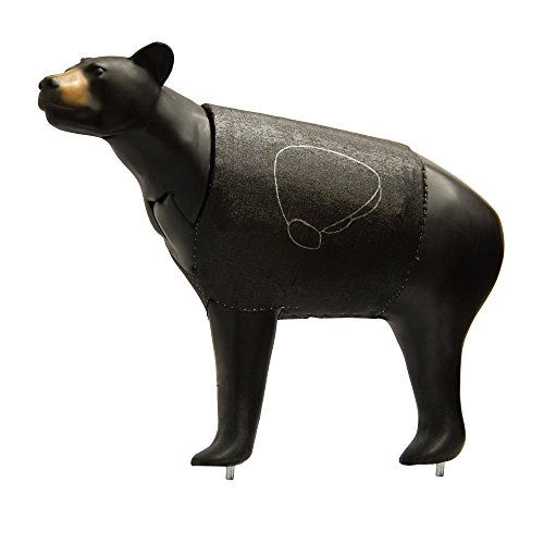 Morrell Bionic Bear 3D Field Point Archery Target with Restuffing Holes for Extended Life (Bear Target)