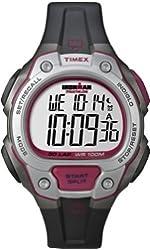 Timex Unisex Quartz Watch ~ LCD Dial Digital Display ~ Black Resin Strap T 5K689 SU