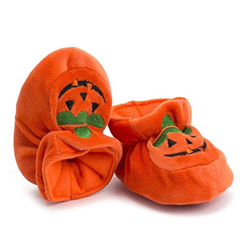 Pumpkin Orange Bbsmile Neonato Scarpe Girl Halloween Boy Baby Pwxw5F